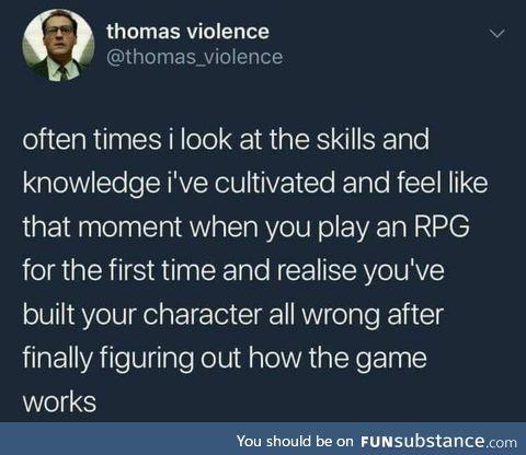 Wrong skills