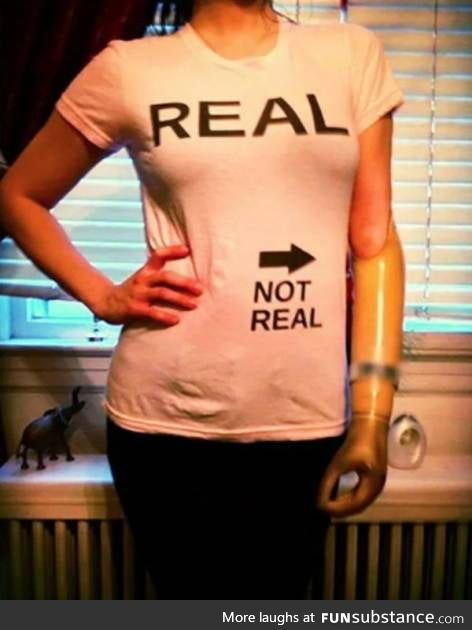Real and Not Real
