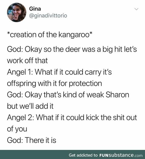 Creation of the Kangaroo