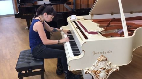 Playing SOAD Chop Suey on Baroque Grand by Bösendorfer