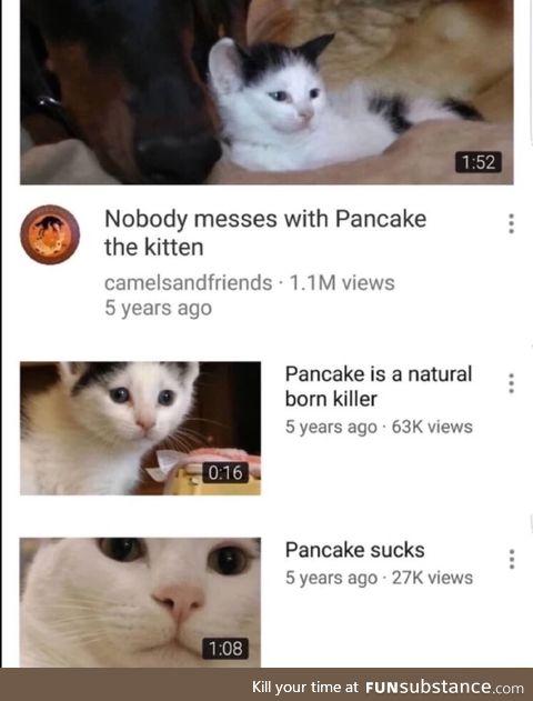 Adventures of pancake