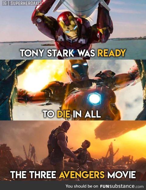 Tony Stark is the hero