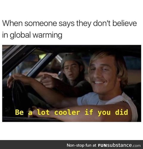 Global climate change*