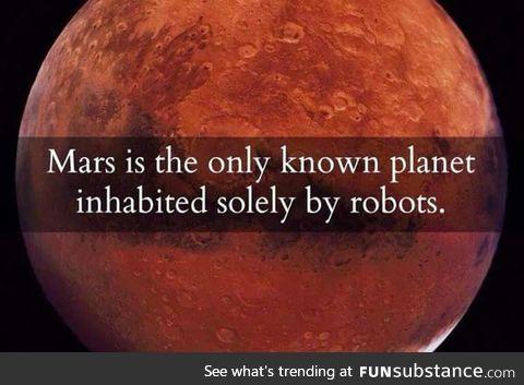 Just Mars things