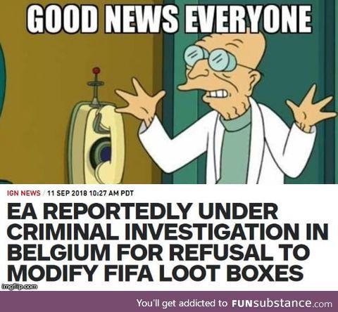 War against lootboxes begins?