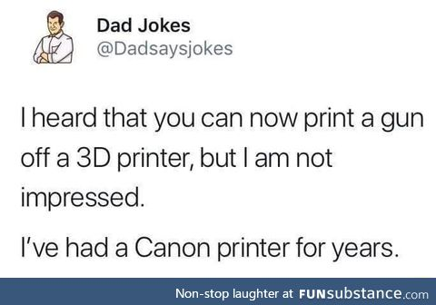 Gun printer