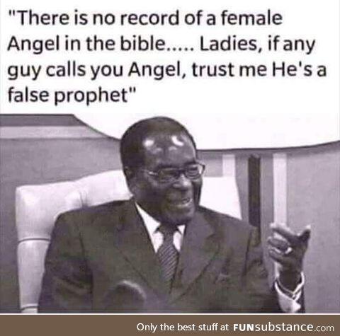 A wide man said.
