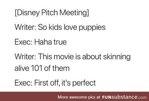 Heard kids love puppies