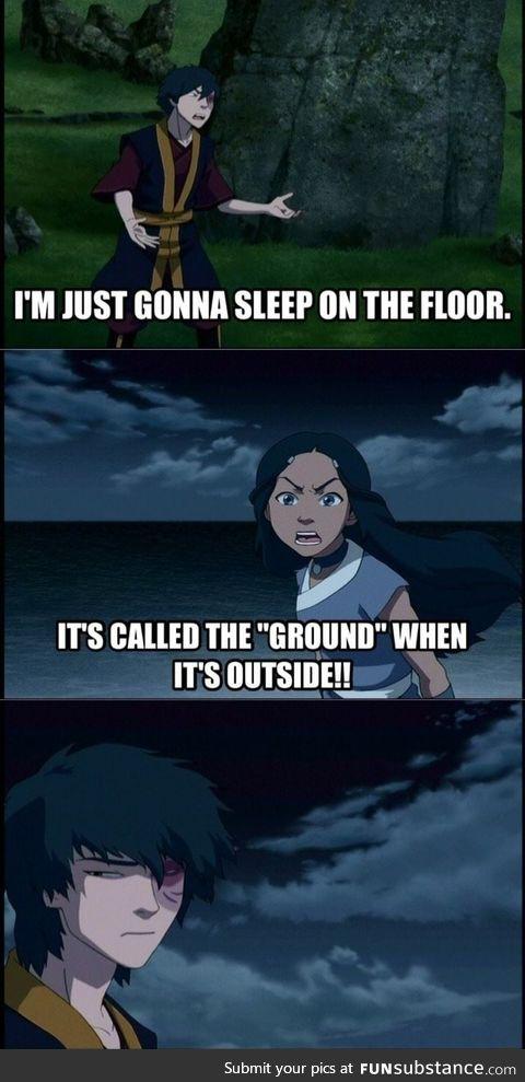It's a ground