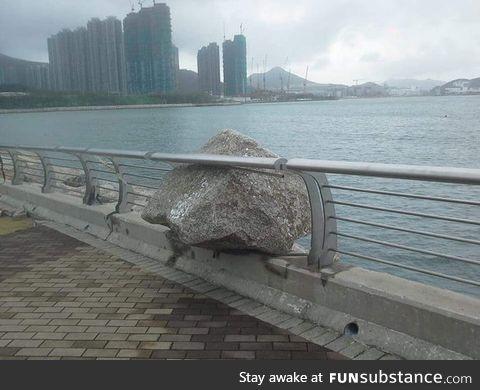 Hong Kong, after the typhoon