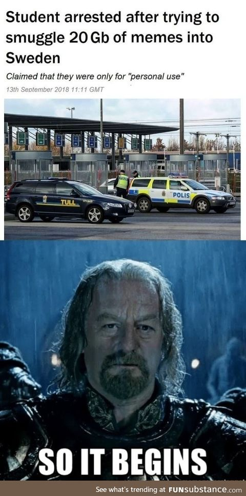 Meme smugglers