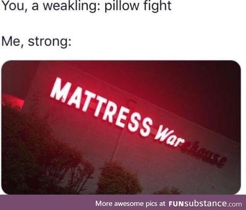 Mattress war