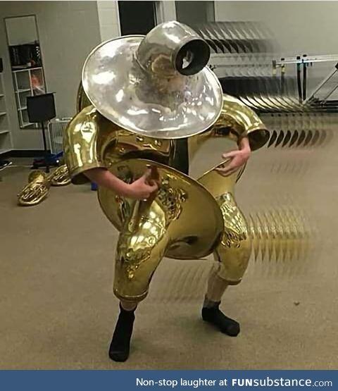 The tuba armor omega