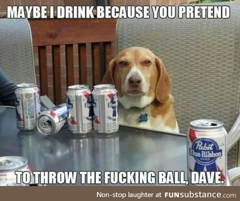 The pain is eternal Dave