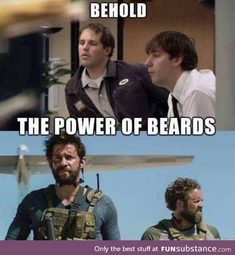 The power of beards