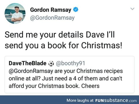 Gordon Ramsay being awesome