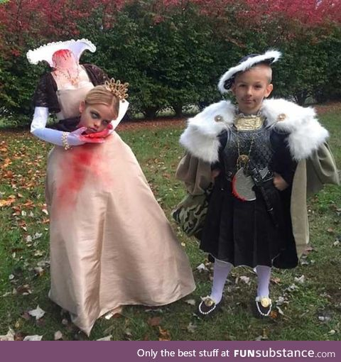 I need to step up my kids costume game
