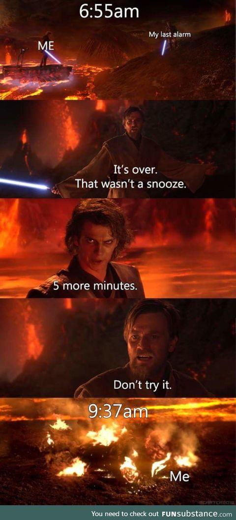 A snooze