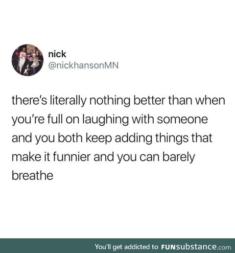 So funny! You fell and