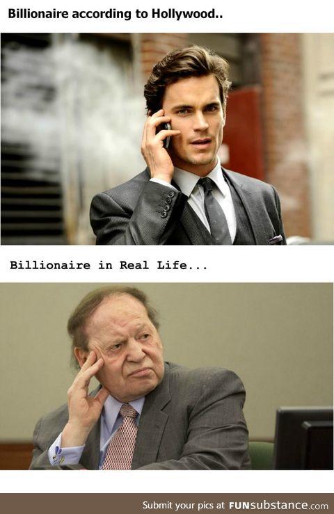 Impossible Standards for Billionaires