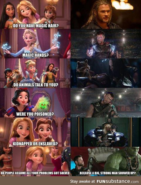 I knew it. He really is a Princess.