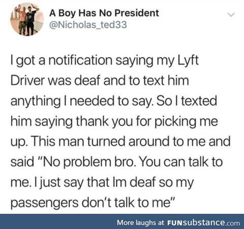Do you even Lyft, bro?