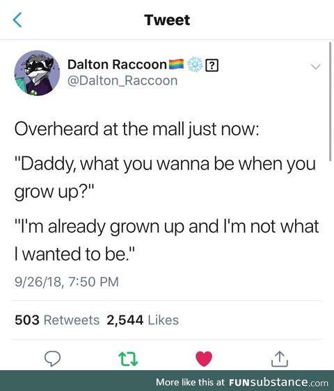 I'm already grow up
