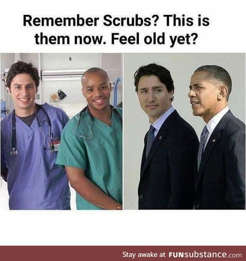 Time really flies by fast