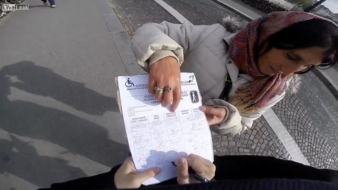 Frenchman saves American couple from scammer in Paris