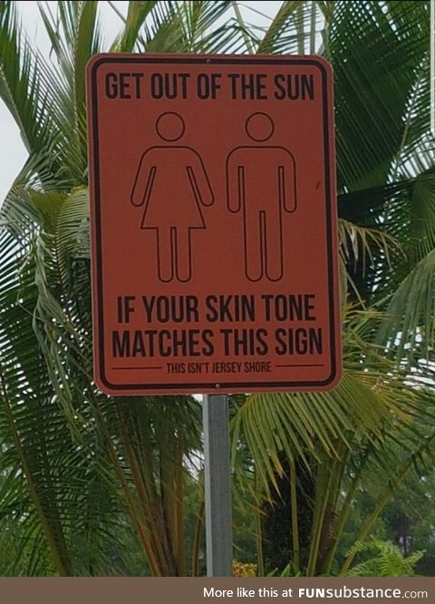 A funny sign found in Singapore
