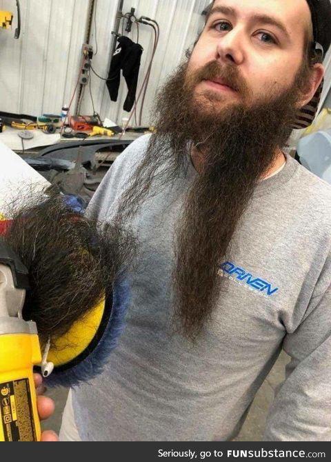 Rip beard :(