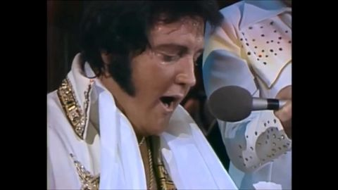 A beautiful performance by Elvis Presley 2 months before his death