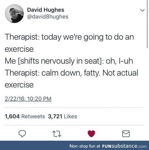 Therapy is hard