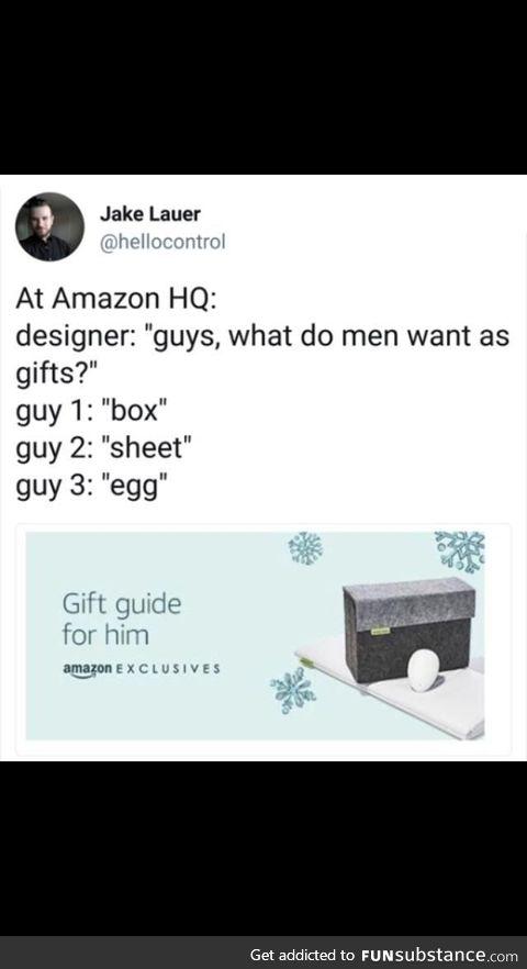 Seriously though Amazon