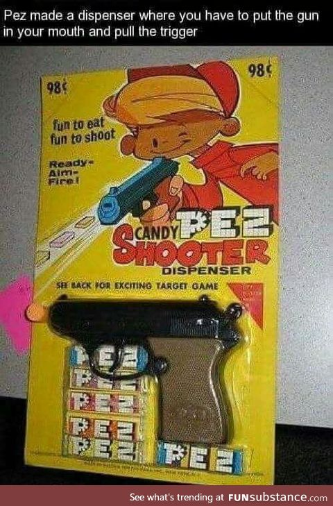 They banned this istead of real guns tho