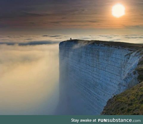 Where the Earth ends... Sussex, England