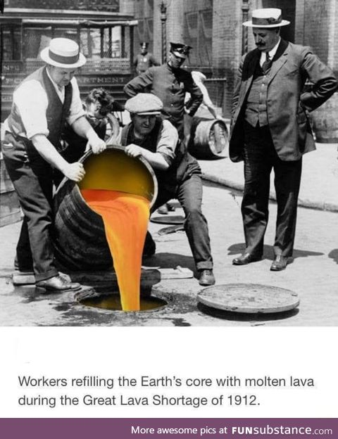 Refilling the earth's core
