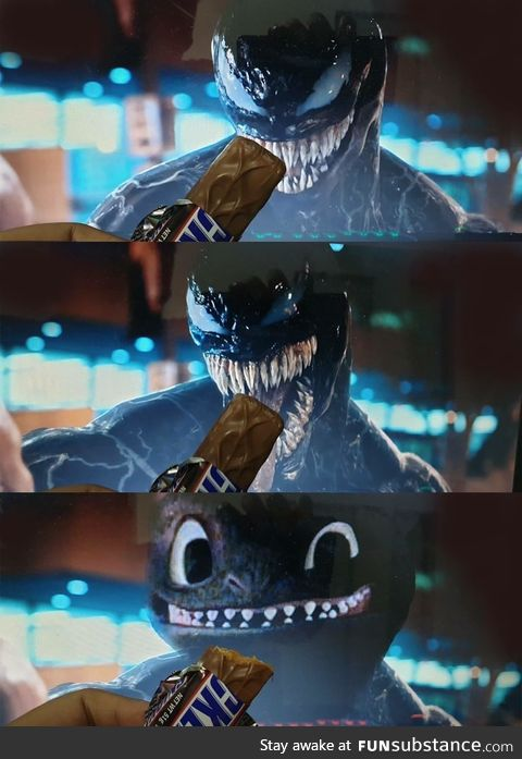 Want some snickers?