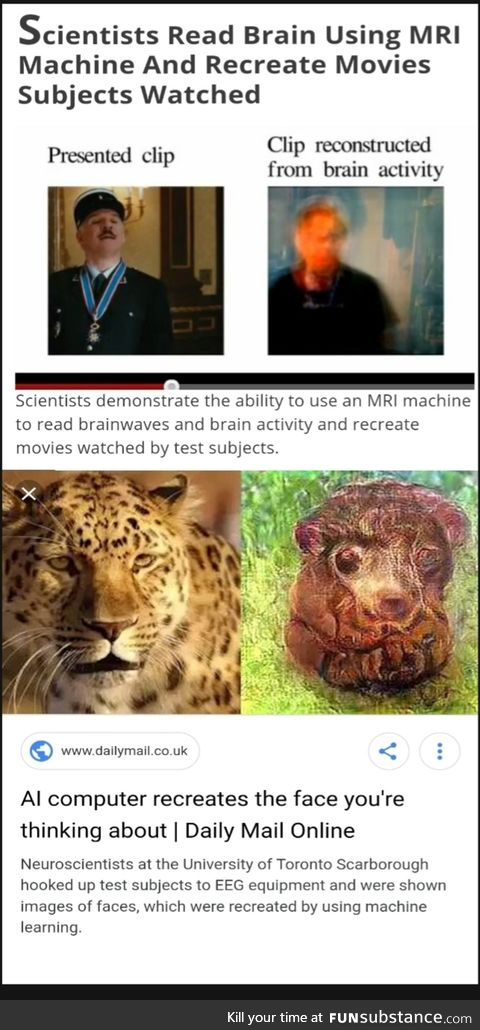 Scientists reconstruct images from our brain