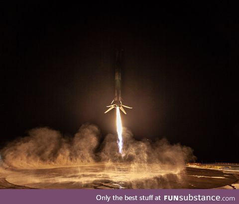 Falcon 9's First West Coast land landing
