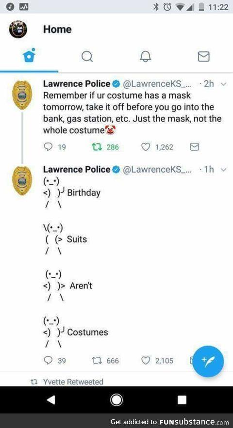 Friendly police