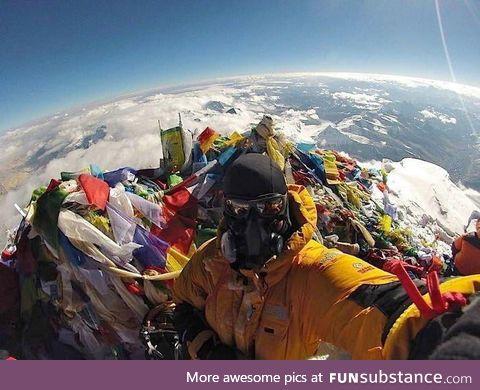 Top of Mount Everest :P