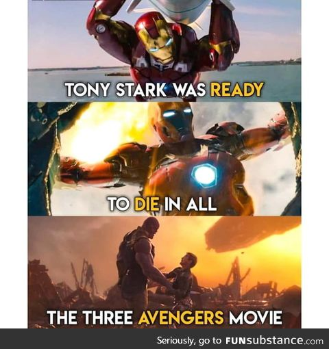 He will be more than ready in Avengers 4 too