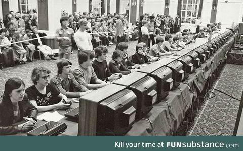 Atari space invaders championship 1980