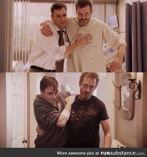 House had a lot of great things. The greatest was this relationship.