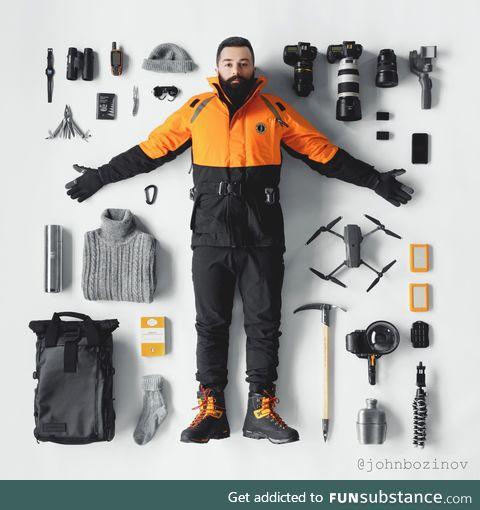 Essentials of an Antarctic photographer