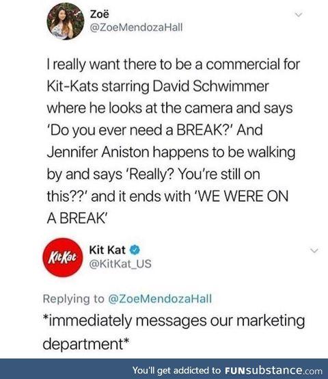 New KitKat commercial