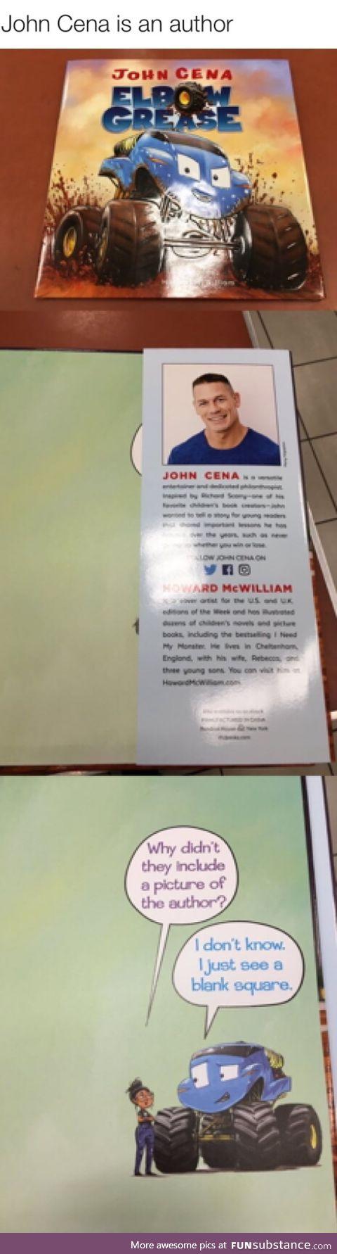 John Cena is an author