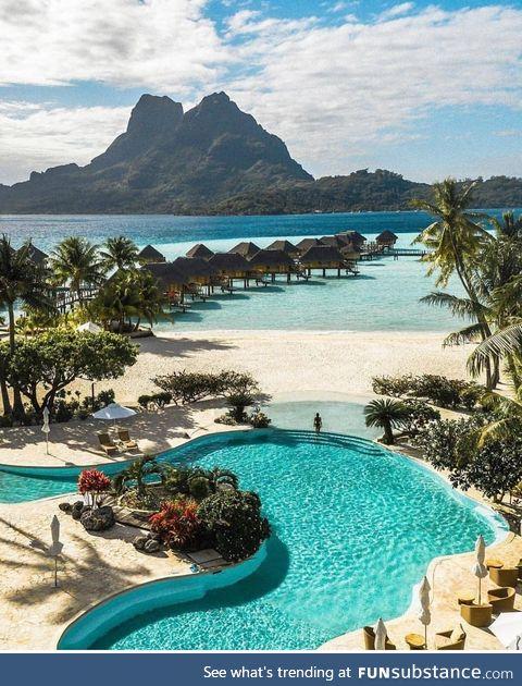 Bora Bora is a paradise