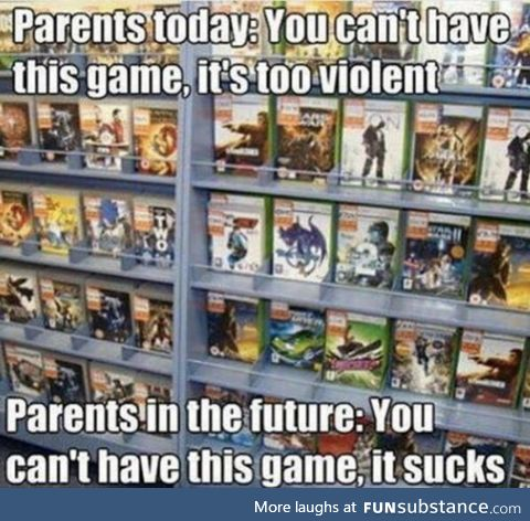 My children will be hearing this alot from me